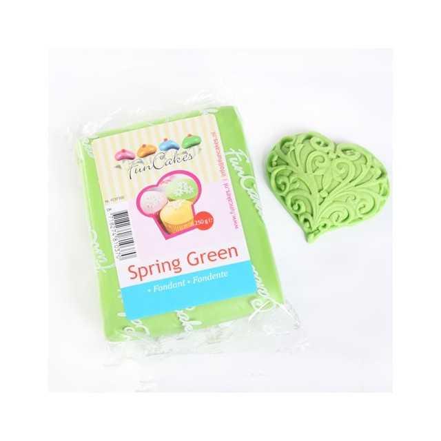 Pâte à sucre Vert FUNCAKES 250g