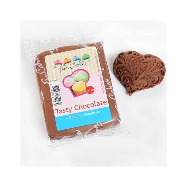 Pâte à sucre Chocolat FUNCAKES 250g
