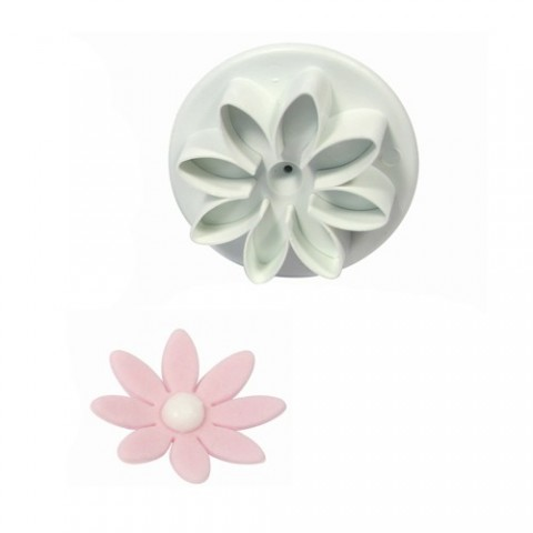 PME - Emporte pièces à poussoir marguerite medium - 2,8 cm