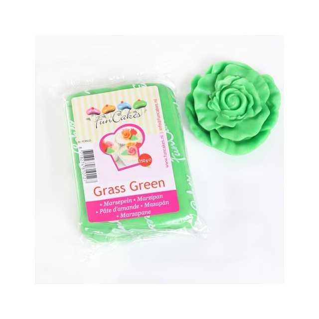 Pate d'amande vert Funcakes 250 gr