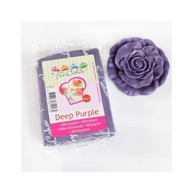 Pate d'amande violet Funcakes 250 gr