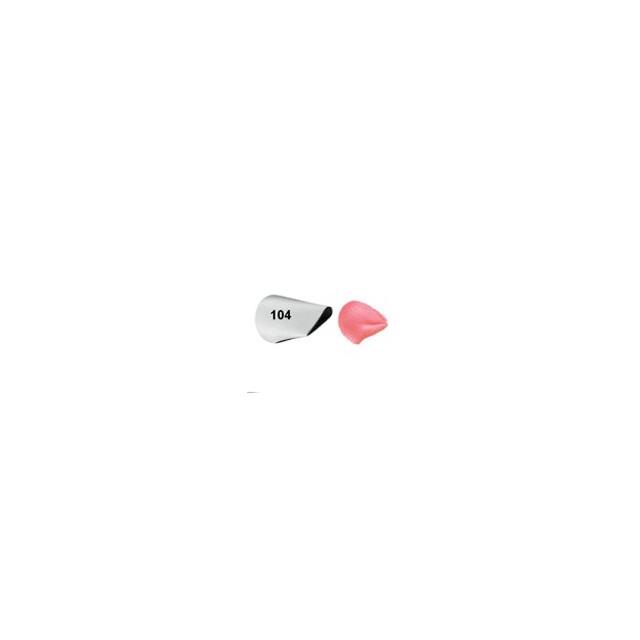 Wilton - Douille patisserie pétale n°104
