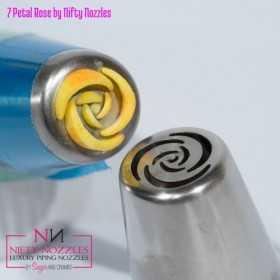 NIFTY NOZZLE - Douille russe fleur - rose 7 pétales