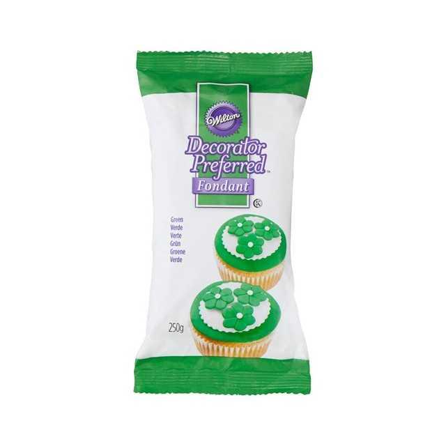 Wilton - Pate à sucre vert 250 gr