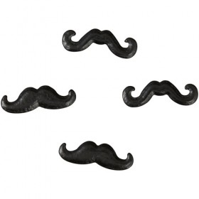Wilton - Décoration gateau moustaches 25 gr