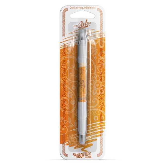 Pinceau feutre alimentaire orange- Click-Twist Brush RD