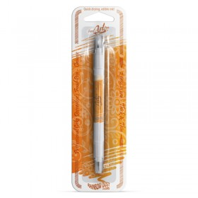 Pinceau feutre alimentaire orange- Click-Twist Brush RD