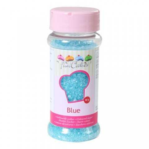 Sucre coloré bleu Funcakes 80 gr