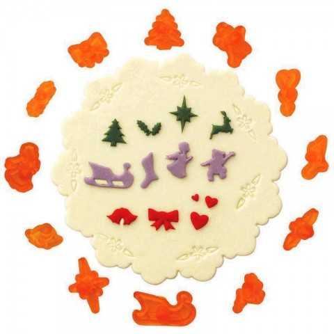 JEM - 12 Emporte-pièces de Noël miniatures