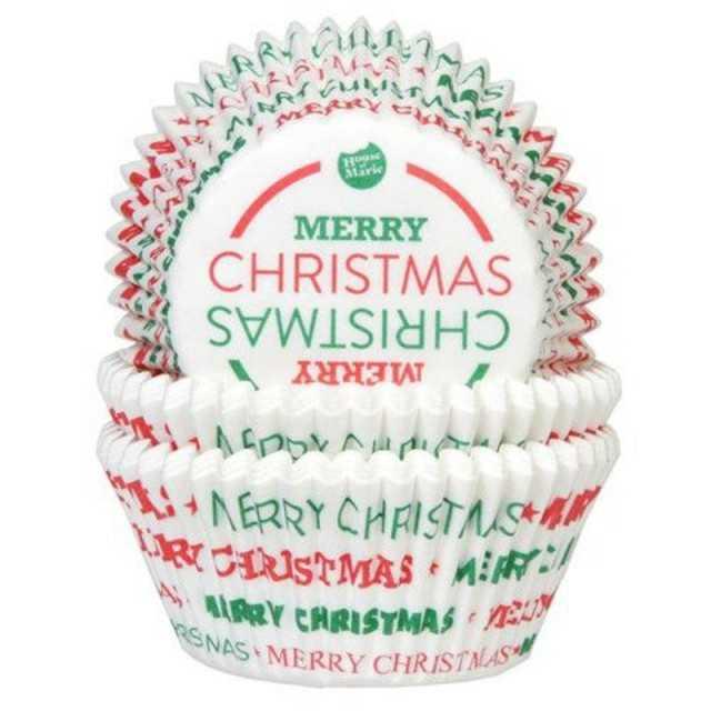 Caissettes Cupcake Joyeux Noël