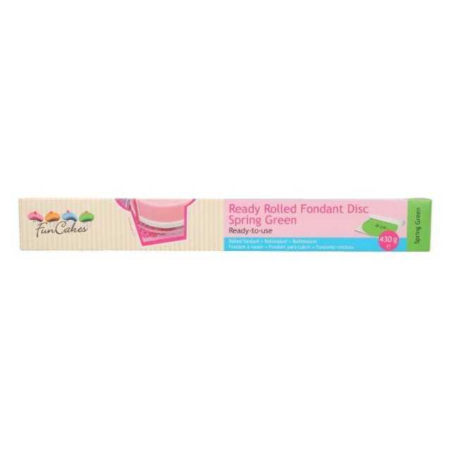 Pâte à sucre Vert prête a l'emploi FUNCAKES 430g