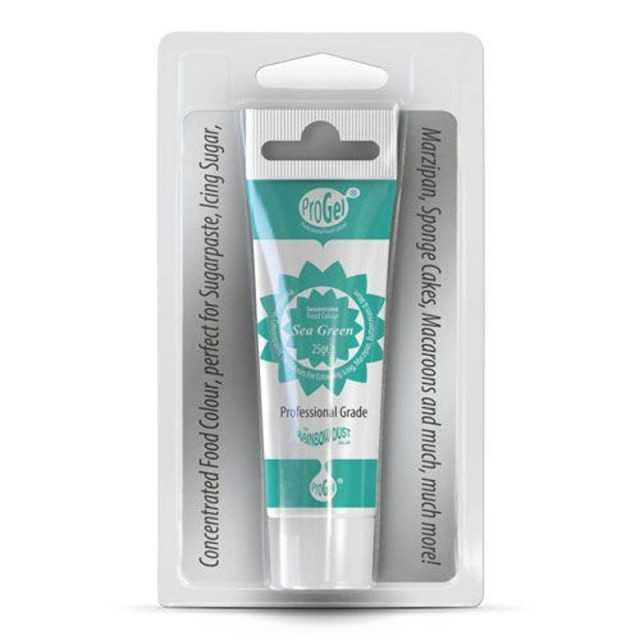Colorant Alimentaire en gel ProGel® SEA Green Rainbow Dust 25gr