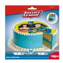 Disque gateau Super Héros Batman vs Superman Justice League