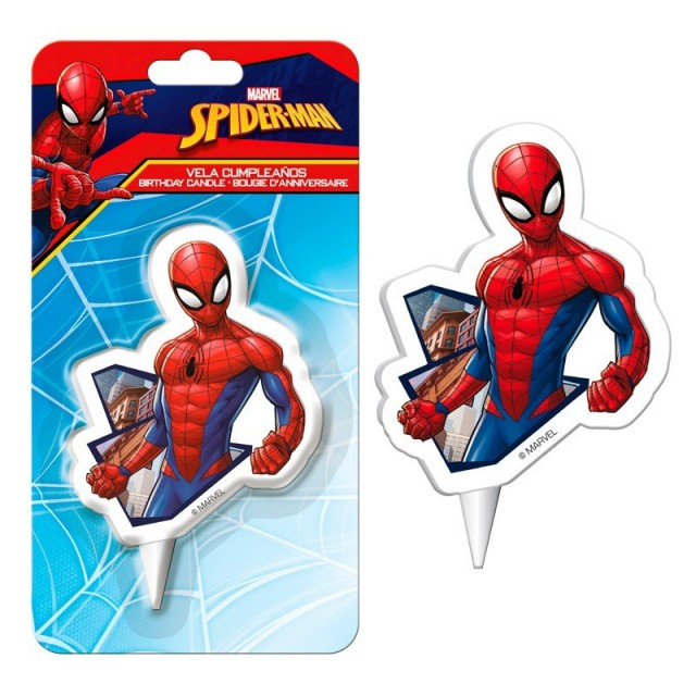 Figurine pour gateau Spiderman