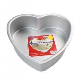 Moule à gateau cœur 20 x 7.5 cm PME