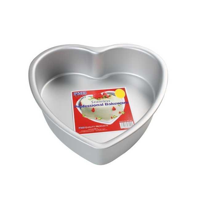 Moule à gateau cœur 30 x 7.5 cm PME
