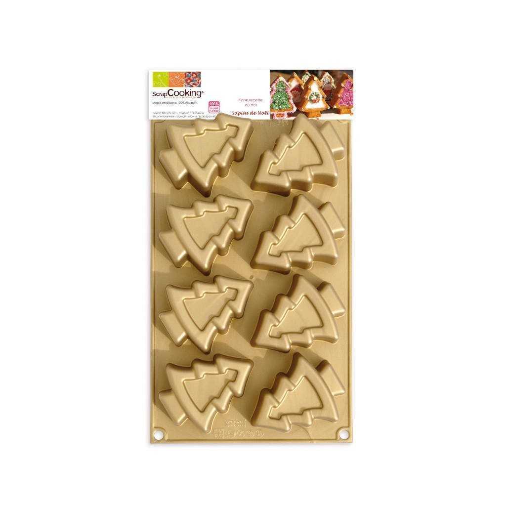 Wilton - Moule silicone déco de Noël - 6 cavités