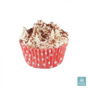 50 Caissettes Cupcake Pois rouge House of Marie