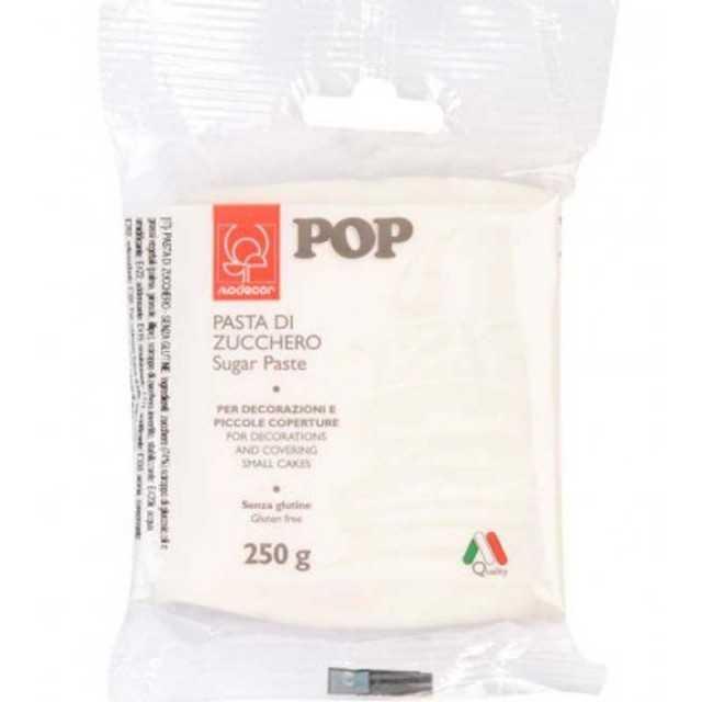 Modecor - Pâte a sucre blanche 250 gr