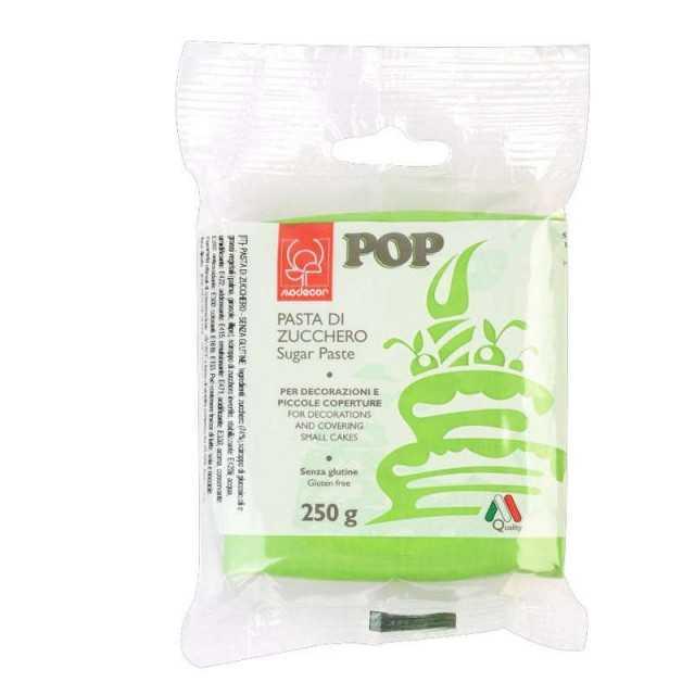 Pâte a sucre Vert MODECOR 250g