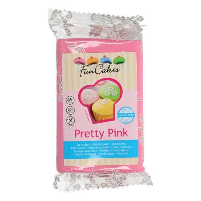 Pâte à sucre Pretty rose FUNCAKES 250g