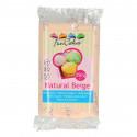 Pâte à sucre FUNCAKES Rose Beige naturel 250g