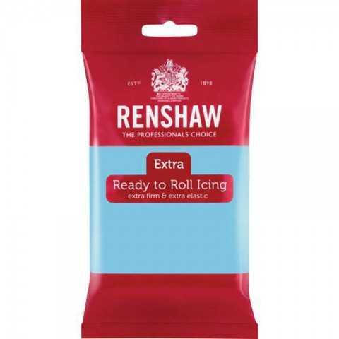 Pate à sucre bleu clair Renshaw 250 gr