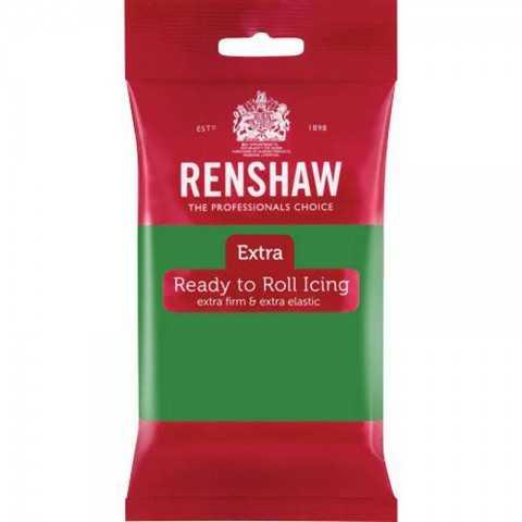 Pâte à sucre Vert Renshaw 250 gr