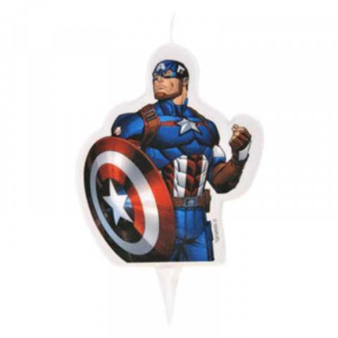 Bougie Avengers - Gâteau anniversaire Super Héro