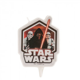 Bougie Star Wars pour gâteau d'anniversaire