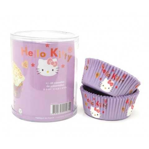 65 Caissettes cupcake Hello Kitty