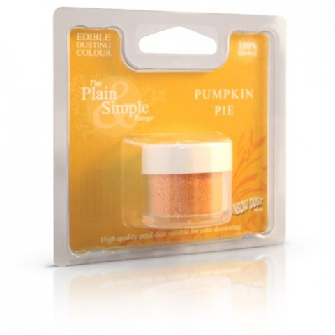 Colorant alimentaire poudre Pumpkin Pie Plain & Simple Orange