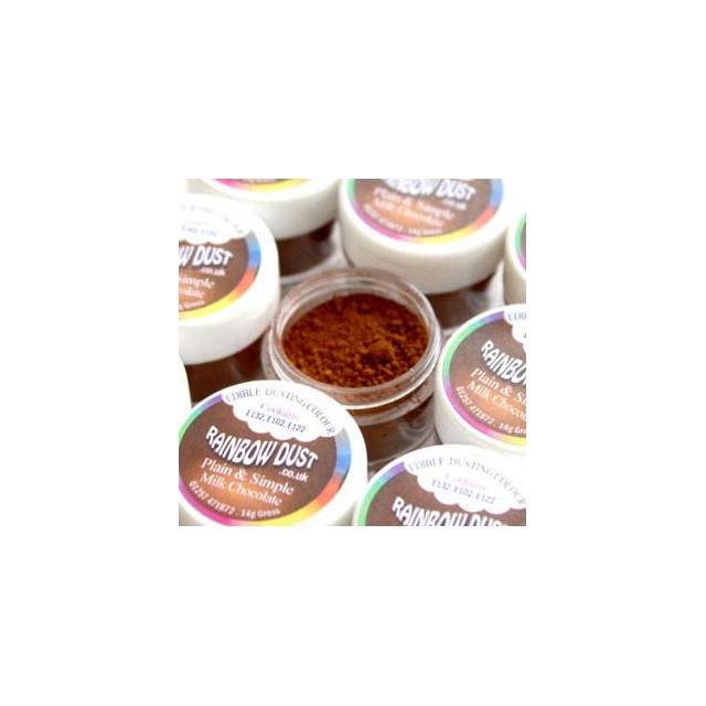Colorant alimentaire poudre Milk Chocolate Plain & Simple Brown