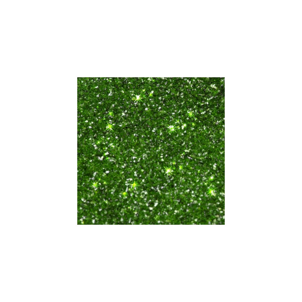 Paillettes Alimentaires Holly Green Rainbow Dust