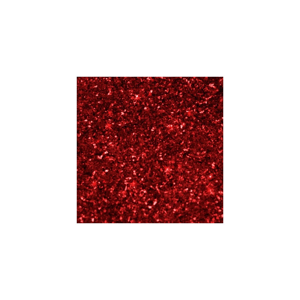 Paillettes Alimentaires Red Rainbow Dust