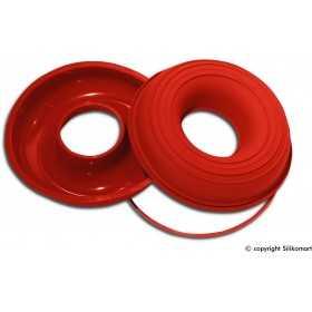 Moule à savarin ou baba au rhum diametre de 24 cm en silicone Silikomart