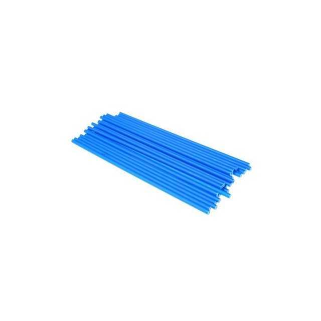 25 batons de sucettes ou cake pops 19 cm Bleu Squires Kitchen