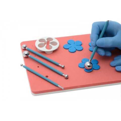 Outils de modelage fleurs en pate à sucre