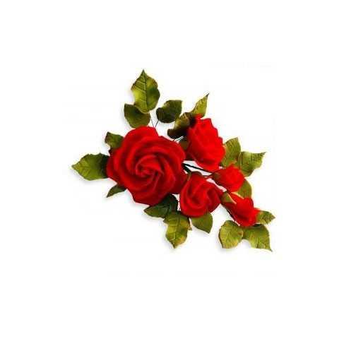 Kit 8 Emporte pièces Rose Calyx et Pétales JEM