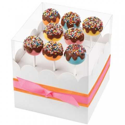 Boite Cadeau  à Cake Pops ou Sucettes