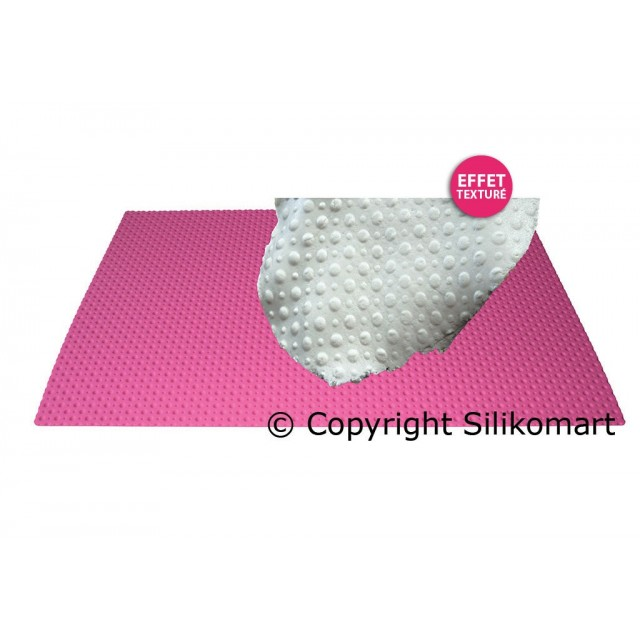 Tapis pate à sucre en silicone impression Pois Wonder Cakes 60 x 40 cm