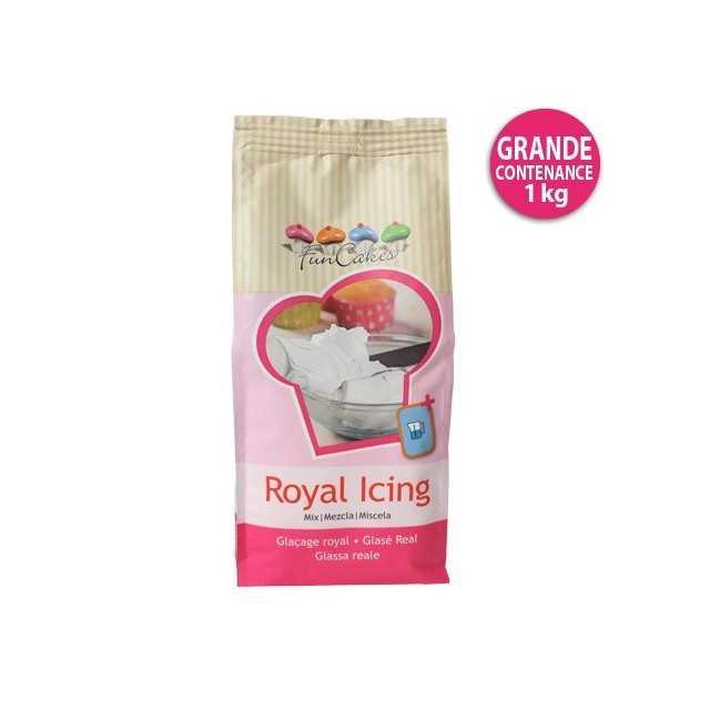 Préparation pour Glaçage Royal 1kg FunCakes